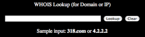 Domain and IP WHOIS