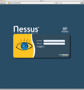 Authenticate to Nessus