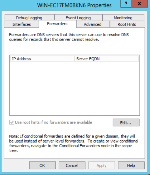 Managing DNS In Windows Server 2012