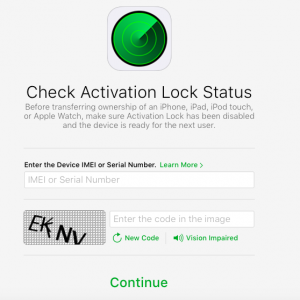 Activation Lock Status At Apple - krypted